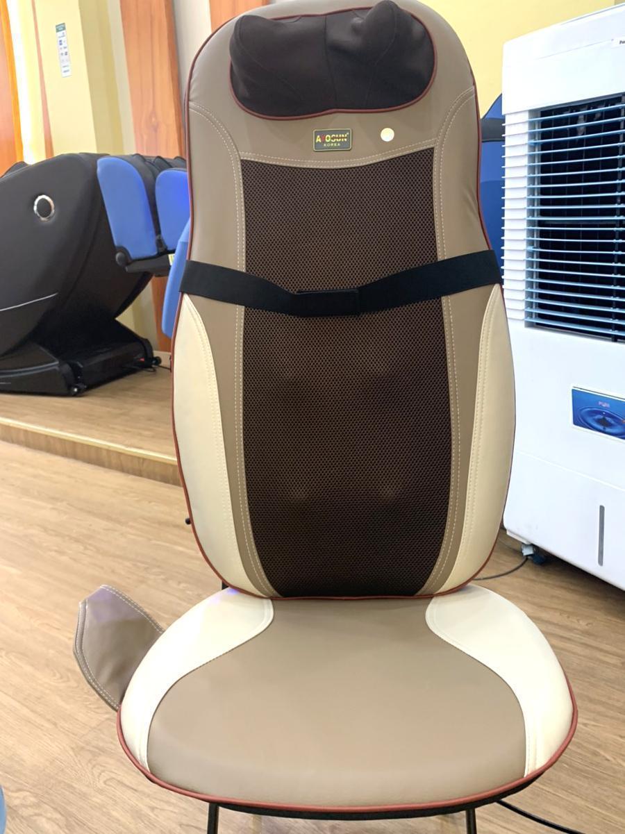 đệm massage toàn thân Ayosun 2021 con lăn lưng