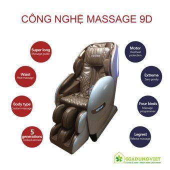 Ghế massage toàn thân Ozuno 5D