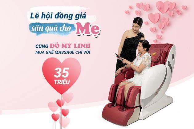 Lễ Vu Lan - Tặng quà cho Mẹ với chiếc máy massage chân